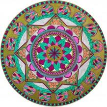 Gold & Pink Mandala