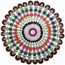 Colorful Tapestry Mandala