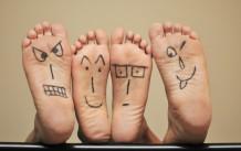 Foot Happy Faces