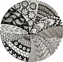 Black & White Doodles