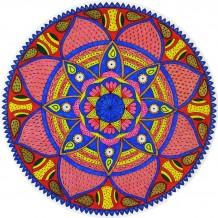 Red & Blue Mandala