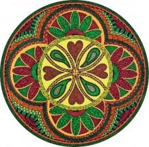 Green & Red Mandala