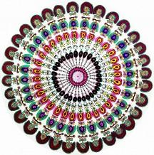 Colorful Tapestry Mandala
