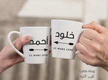 Couple Mug (Arrows Design) - MU037