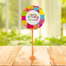 Balloon Colored Birthday Design