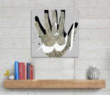 Canvas - Allah by Noor Al Salman