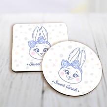 Rabbit Mug Coaster