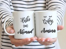 Couple Mug (Hubs & Wify Design) - MU023