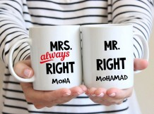 Couple Mug (Always Right Design) - MU024
