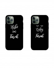 Couple Mobile Cover Wife & Husband Design - MC023