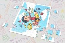 Puzzle - Boy Design