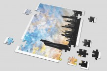 Puzzle - Kuwait City by Noor Hellewa