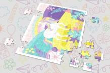 Puzzle - Unicorn Puzzle
