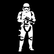 pop-art Stormtrooper: the first order