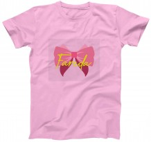 Bow tie - Kid's Circle Neck T-Shirt