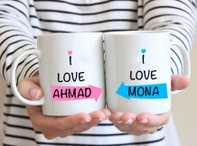 Couple Mug (I Love Design) - MU035