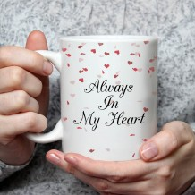 Sentence on Mug (Hearts Design) - MU046