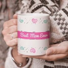 Sentence on Mug (Best Heart Design) - MU054