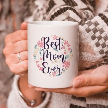 Sentence on Mug (Mix Flowers Design) - MU055