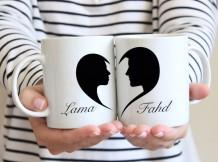 Heart Couple Mug