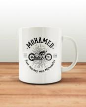 Motorcycle Mug & Coaster