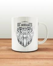 Biker Mug & Coaster