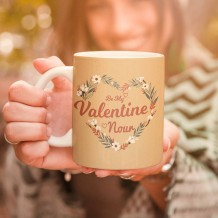 Flowers Heart Mug & Coaster