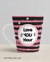 Black & Pink Mug & Coaster