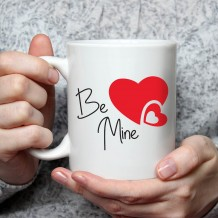 Sentence on Mug (Be Mine Design) - MU048