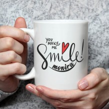 Name on Mug (Smile Design) - MU052