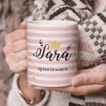 Name on Mug (Queen Design) - MU053