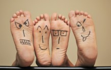 Foot Happy Faces