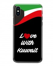 Mobile Cover Love with Kuwait - MC064