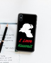Mobile Cover Kuwait Map - MC063