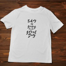 Men's T-Shirt Design ( Great Day ) - TS011