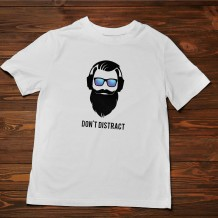 Men's T-Shirt Design ( Don't Distract ) - TS017