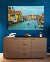 Canvas - Venice by Rashed Sabzali