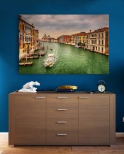 Canvas - Venice Waterways by Mohammad Mirza