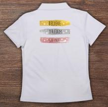 Woman's Polo T-Shirt Design ( Words  )