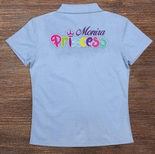 Woman's Polo T-Shirt Design ( Princess )