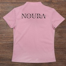 Woman's Polo T-Shirt Design ( Name & Sentence )