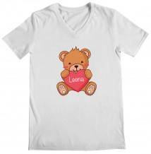 Brown Bear - Woman's V Neck T-Shirt