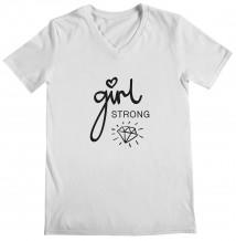 Diamond - Woman's V Neck T-Shirt