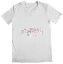 Rabbits - Woman's V Neck T-Shirt