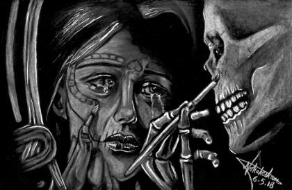 Drawing Dead Inside Art