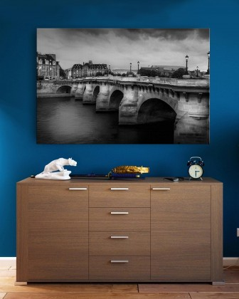 Canvas - Pont Neuf Bridge by Mohammad Mirza