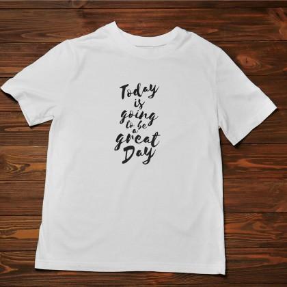 Men's T-Shirt Design ( Great Day ) - TS011