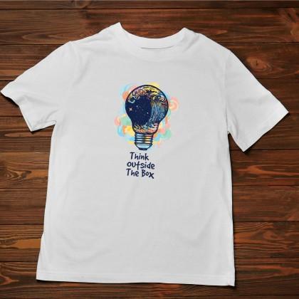 Men's T-Shirt Design ( Outside the Box ) - TS022