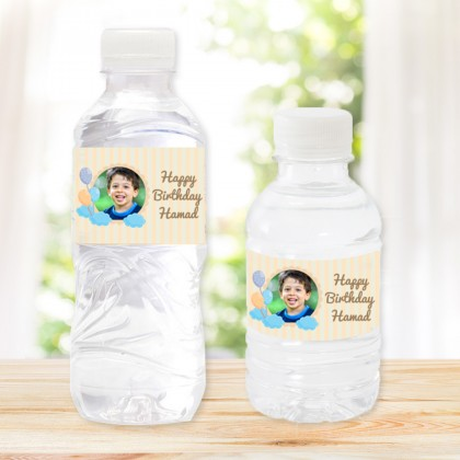 Pack of 20 Water Bottles Birthday IV Design