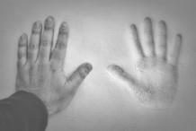رسمة يد